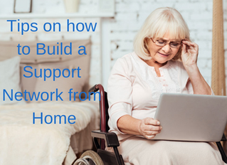 How to Build your Support Network from Home