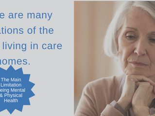 The limitations of care homes in treating older adults with dementia