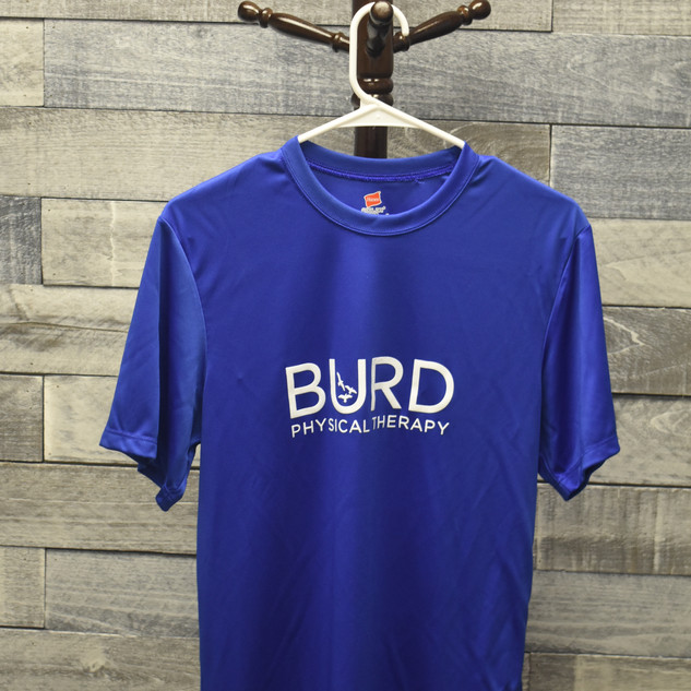 Burd Physical Therapy Blue T-Shirt