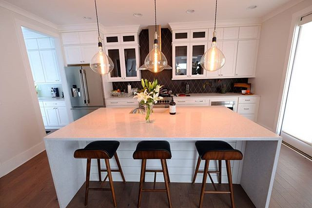 Another successful custom lighting design for a client!! One of the most popular choices by our clients are these edison bulb pendants dropp