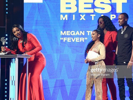 Megen Thee Stallion Takes Home A Win At The BET Awards
