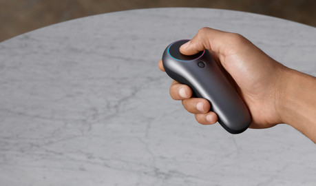 The ML1 Control: Touch, Pose, Trigger, Bumper, Home.