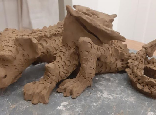 Local mud turned into fabulous sculptures