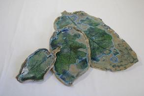 Leaf platters
