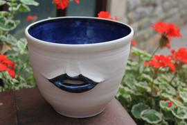 Lip bowl 14 c.m high 16 c.m diam