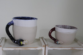 Lady arm handle jugs