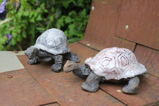 2 Raku tortoise