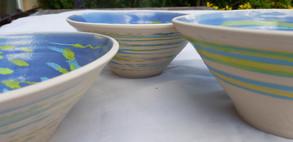 Close up of bowls