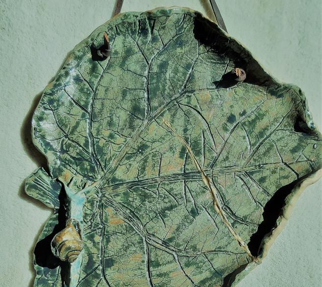 Leaf Platter Kintsugi