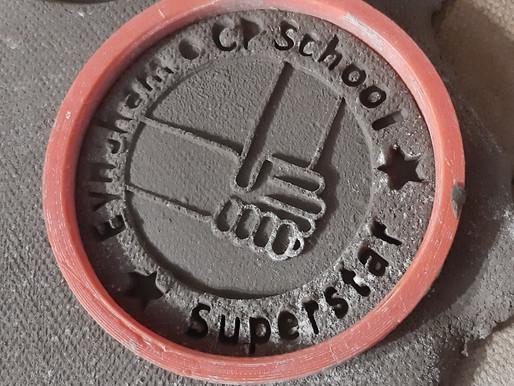 Eynsham County Primary School Superstar Medals