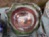 Raku coil coppers and green.jpg