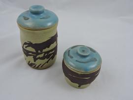 small and medium storage jars