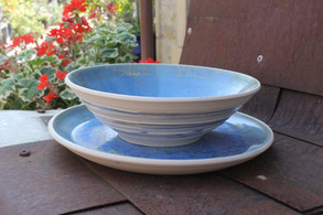 Bowl 20c.m and plate 23 c.m