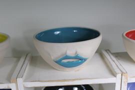 Lip bowl 7 c.m high 14 c.m diam