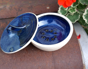 Soap dish with lid