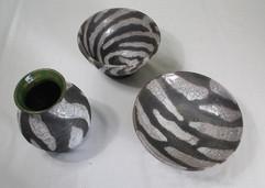 Zebra print raku