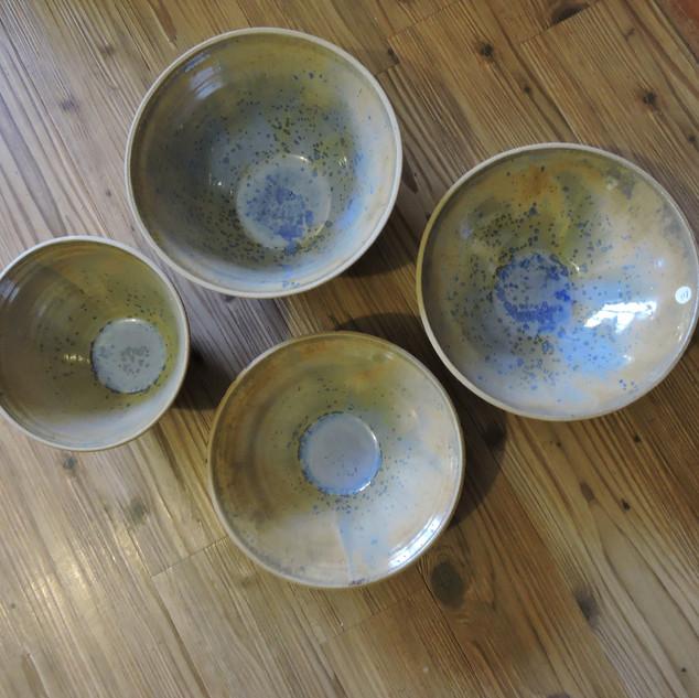 Symphony glazed bowls