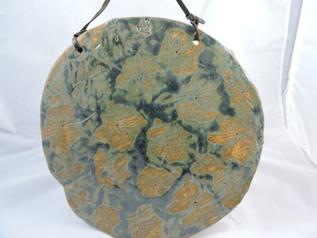 Leaf Imprinted Hanging Platter