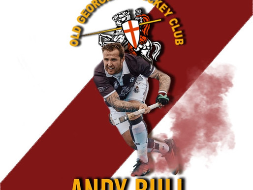 Andy Bull joins OGHC Men's 1s playing squad and the Ladies Coaching team.