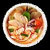 Bol de fruits de mer