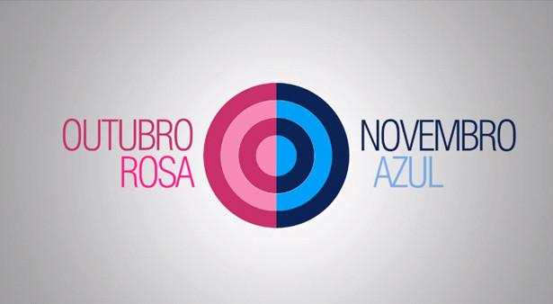 """""""Outubro Rosa e Novembro Azul""""  duas campanhas, um só objetivo !"""
