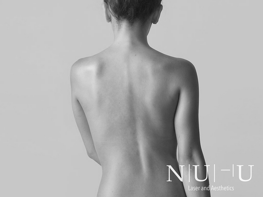 Image of a woman's smooth back - cryolioplysis - NU-U Laser and Aesthetics Clinic in Hebden Bridge, West Yorkshire Todmorden Hebden Bridge Halifax Leeds Manchester