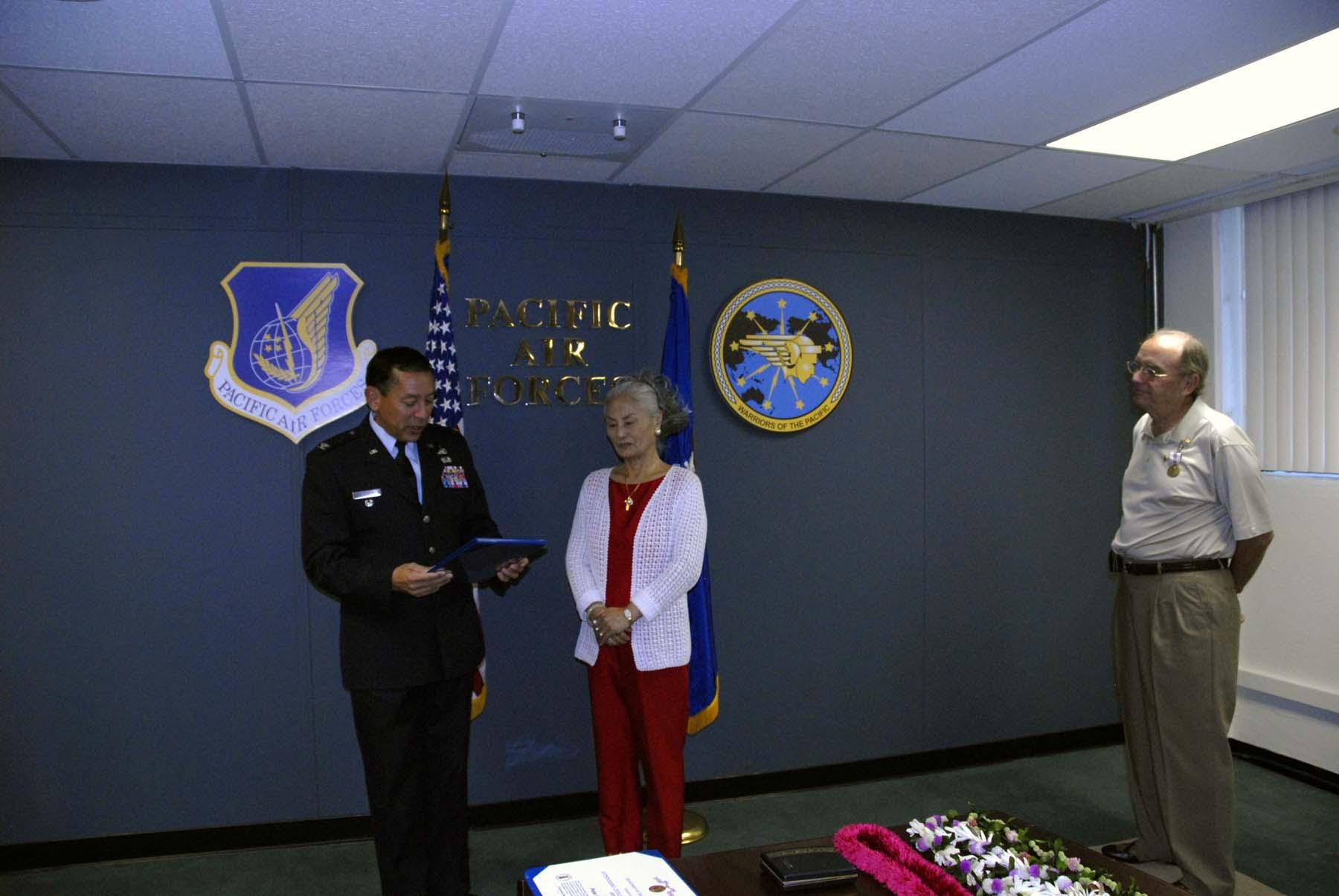Colonel Valdespino Praises Chun Cha