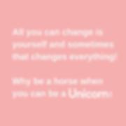 Unicorn pro Motto
