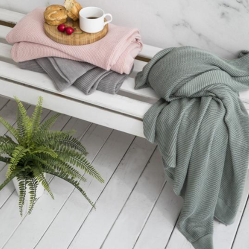 Organic Bamboo Throw by Simply Organic