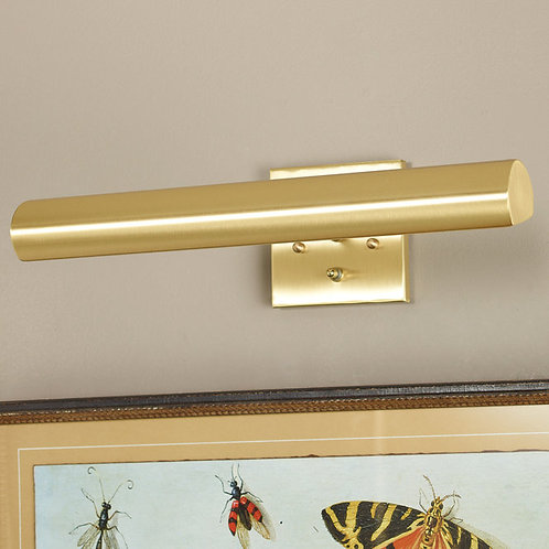 """16"""" Picture Light in Satin Brass"""