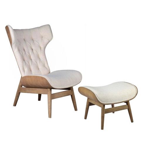 Nashville Chair & Ottoman