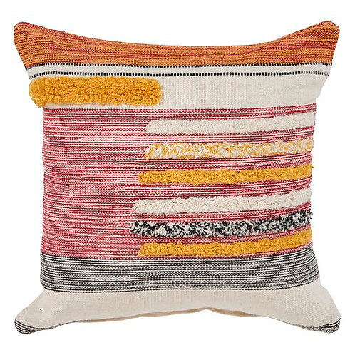 Textural Multi-Color Pillow