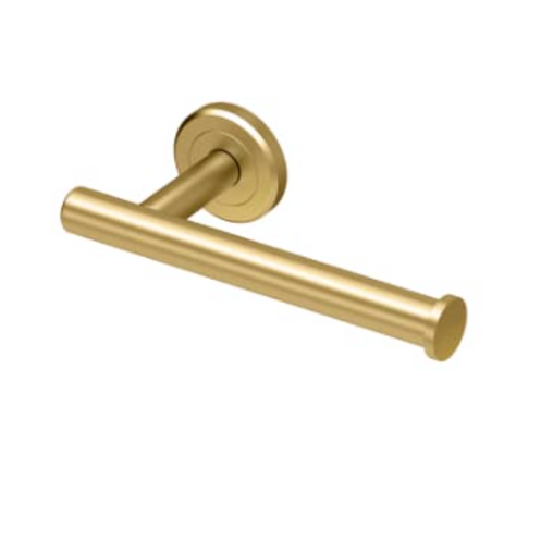 Brushed Gold Toilet Tissue Holder