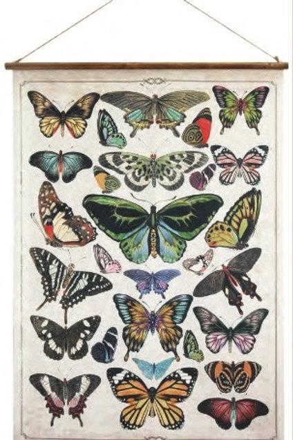 Butterflies on Canvas Wall Art