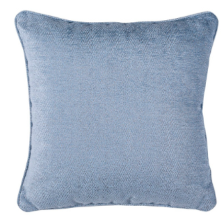 Light Blue Accent Pillow