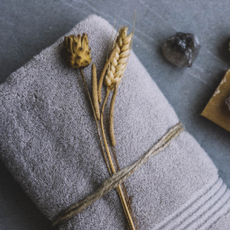 Luxurious Turkish Towel - SET of TWO TOWELS + TWO WASHCLOTHS