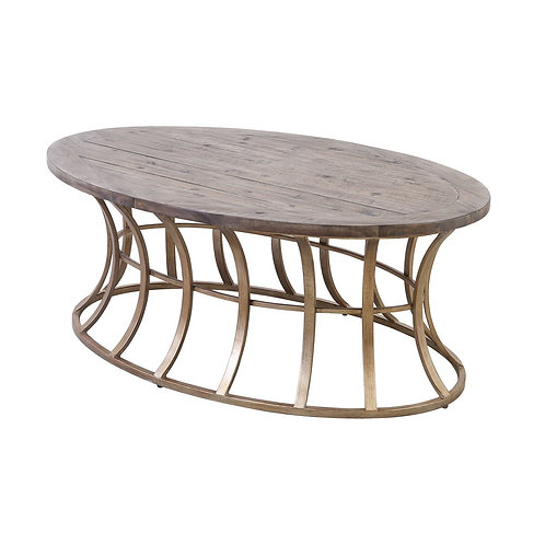 Meditation Oval Coffee Table