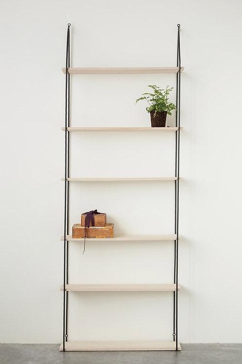 Slim Profile 6 Tier Wall Shelf