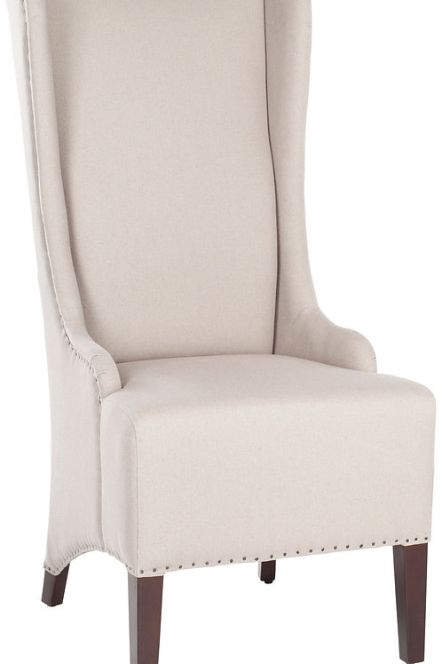 Dramatic Captain's Dining Chair