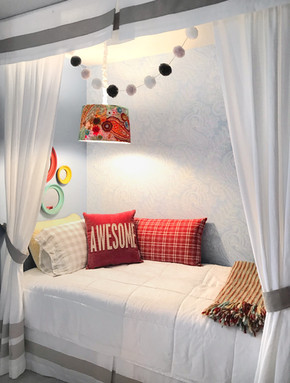 Child's Room Alcove Bed