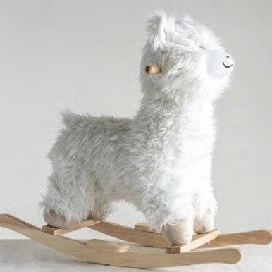 Llama Ride-On Rocker Toy