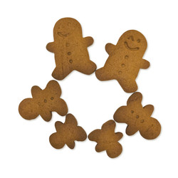 One for One_gingerbread man die cut
