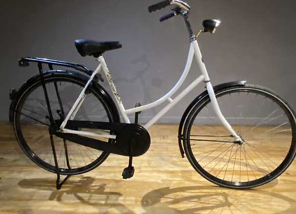 Vélo Hollandais Oma Fiet BSP Blanc
