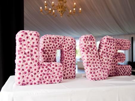 LOVE Letters: Grand Island Mansion Wedding Florist