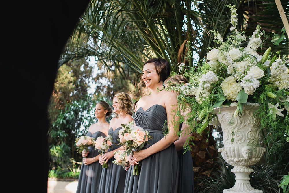 Bridesmaids' Bouquets | Visual Impact Design wedding flowers | Custock Photography