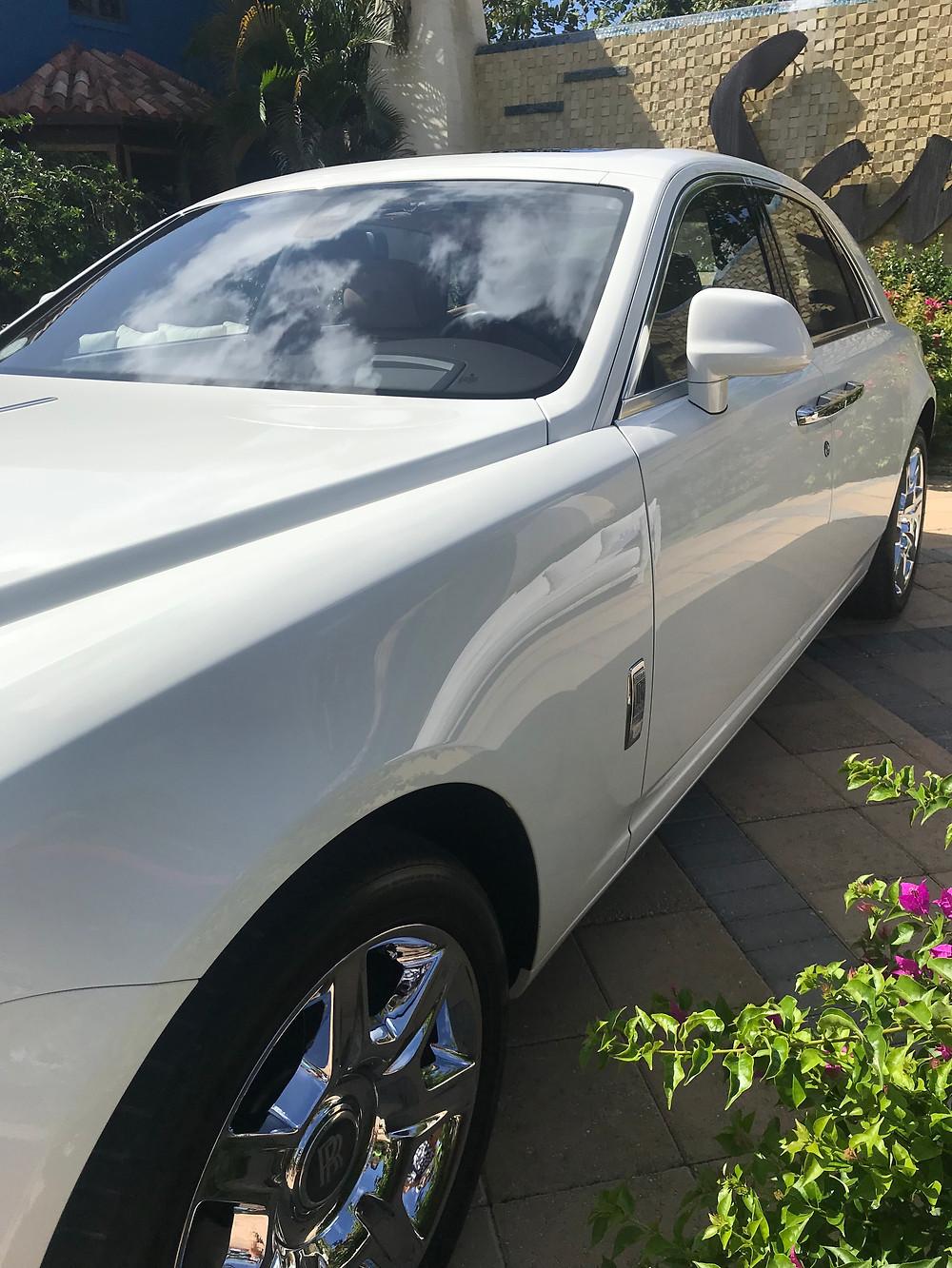 Rolls Royce at at Sandals Royal Barbados
