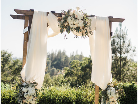 50 Arches, Arbors and Altar Backdrops for Your Outdoor Wedding Ceremony