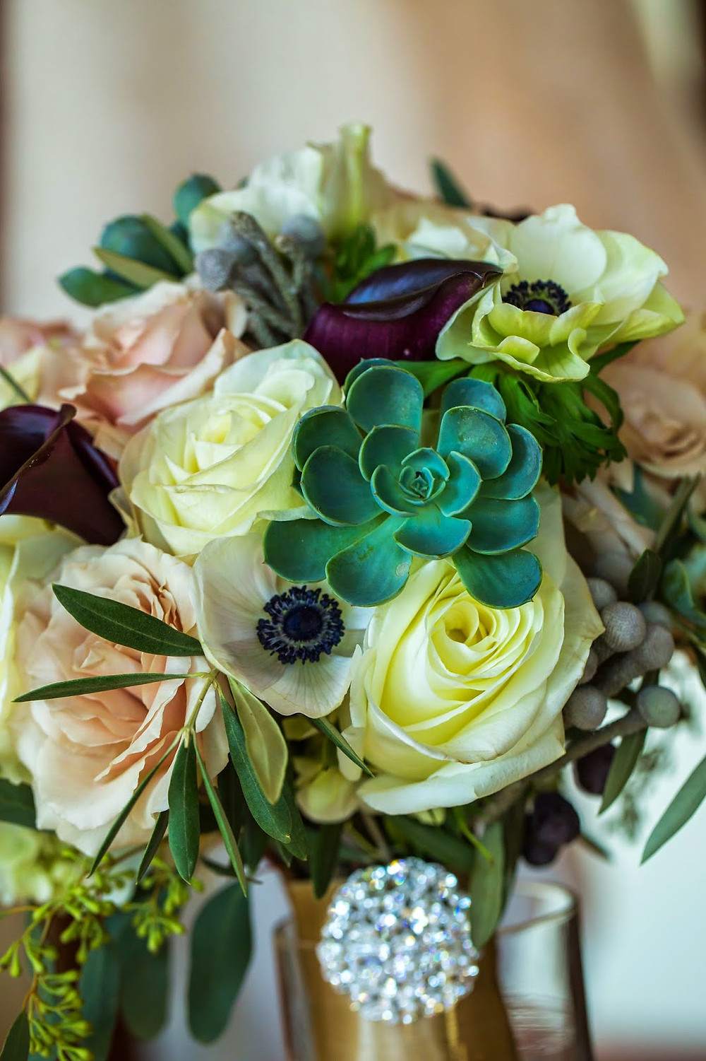 Wedding Flowers by Visual Impact Design. CinZo Photography