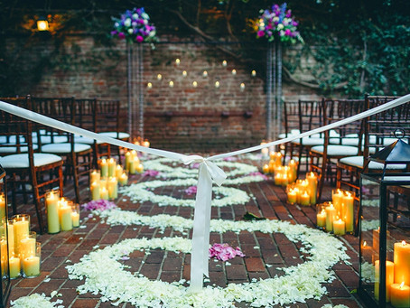 Lavender Love and Candlelight at The Firehouse: Natalie + Luke