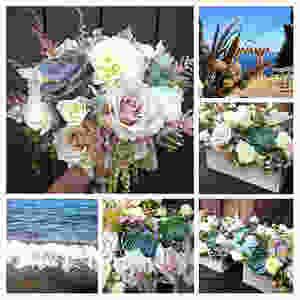 Lake Tahoe rustic elegant wedding   Flowers by Visual Impact Design